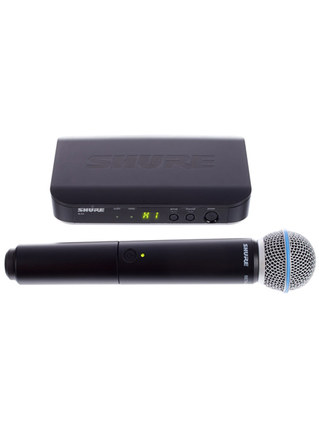 Shure BLX24 Beta58 S8 UHF Wireless-System